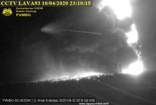 Gunung Anak Krakatau dan Merapi 'Batuk' Raungan Alam di Jumat Malam 02 - Finansialku