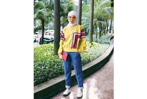 10 Tren OOTD Hijab 2020 Simpel, Kasual, Tetap Kece 09 - Finansialku