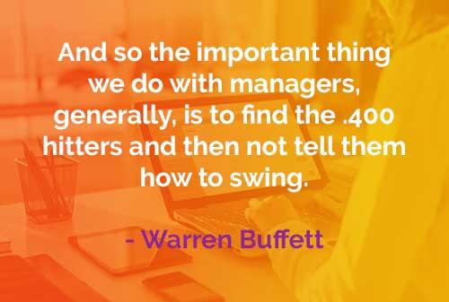 Kata-kata Bijak Warren Buffett: Hal Penting yang Dilakukan