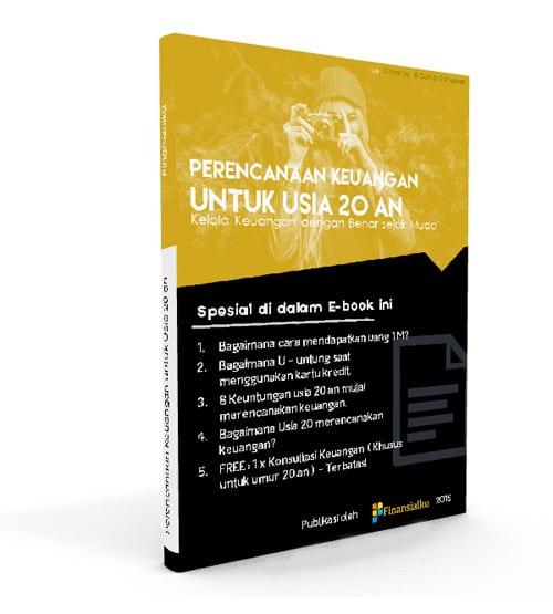 Ebook Perencanaan Keuangan untuk Usia 20 an Perencana Keuangan Independen Finansialku