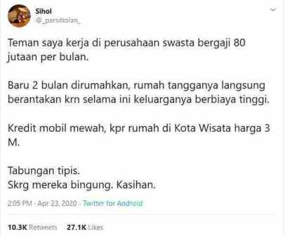 Viral Karyawan Gaji 80 Juta Di-PHK_ Ini yang Bisa Dipelajari! viral 01