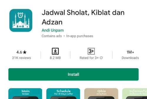 Daftar 5+ Aplikasi Jadwal Sholat untuk Android dan Ios Terbaru 07 - Finansialku