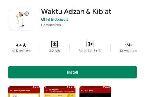 Daftar 5+ Aplikasi Jadwal Sholat untuk Android dan Ios Terbaru 06 - Finansialku
