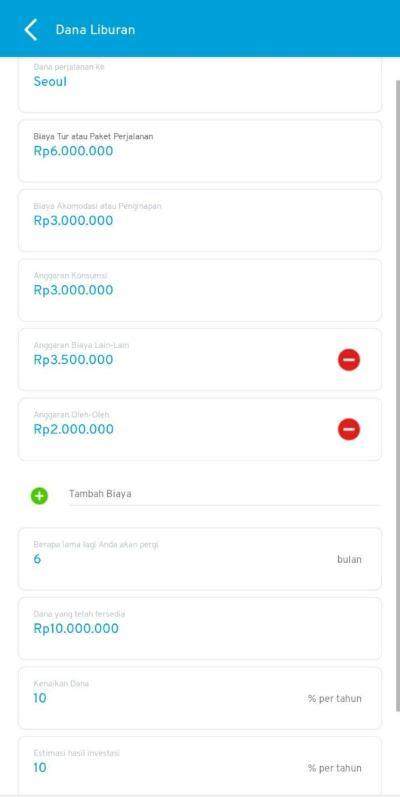 Dana Liburan Aplikasi Finansialku 1