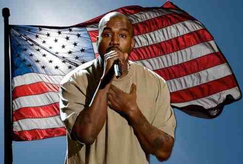 Rapper Tajir, Kanye West Calonkan Diri jadi Presiden Amerika Serikat