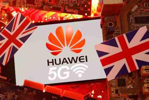 Waduh! Pemerintah Inggris Larang Huawei Bangun Jarigan 5G