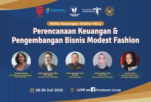 Pengembangan Bisnis Modest Fesyen Bersama #Bangkitdarirumah!
