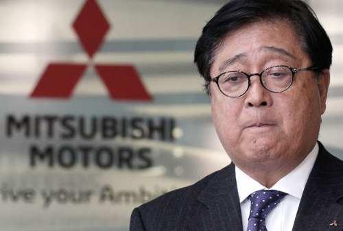 Masalah Kesehatan, Bos Besar Mitsubishi Mengundurkan Diri