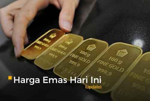 Harga Emas Hari Ini 26 Februari 2021 adalah Rp 922.000 per gram