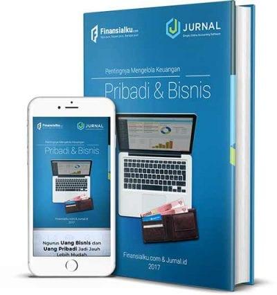 Ebook Pentingnya Mengelola Keuangan Pribadi dan Bisnis - Mock Up - Finansialku Jurnal