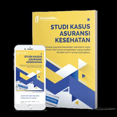 Mockup Ebook Studi Kasus Asuransi Kesehatan