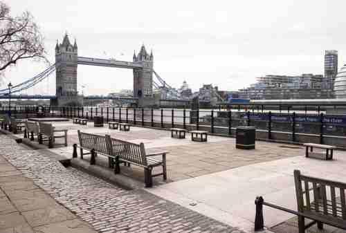 Inggris Lockdown, Tambah Daftar Negara yang 'Diganggu' Corona 01