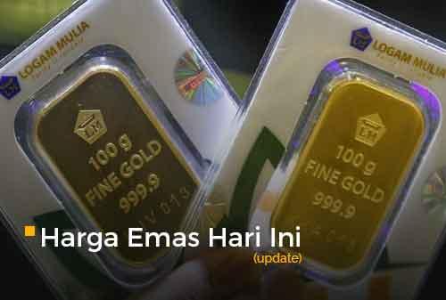 Harga Emas Hari Ini 1 Maret 2021 adalah Rp 923.000 per gram
