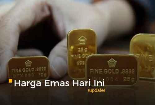 Harga Emas Hari Ini 2 Maret 2021 adalah Rp 923.000 per gram