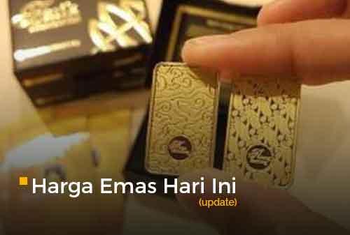 Harga Emas Hari Ini 3 Maret 2021 adalah Rp 928.000 per gram