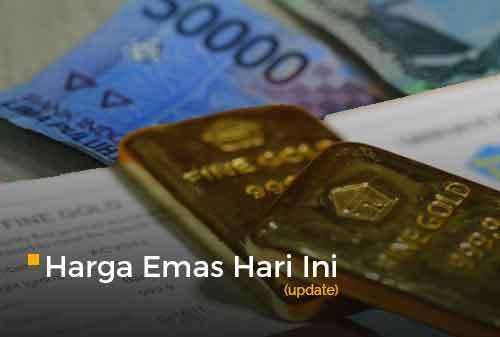 Harga Emas Hari Ini 27 November 2020 adalah Rp 951.000 per gram