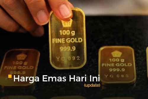 Harga Emas Hari Ini 16 September 2020 adalah Rp 1.030.000 per gram