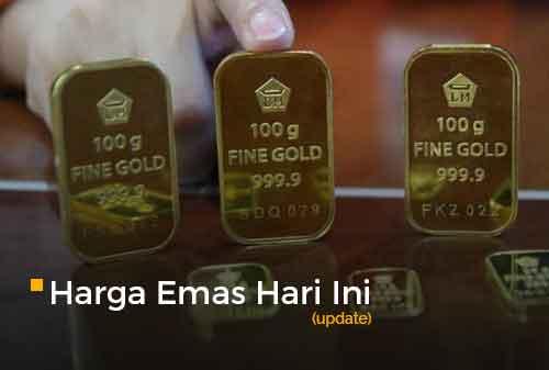 Harga Emas Hari Ini 18 September 2020 adalah Rp 1.030.000 per gram