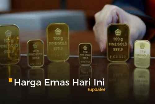 Harga Emas Hari Ini 21 September 2020 adalah Rp 1.024.000 per gram