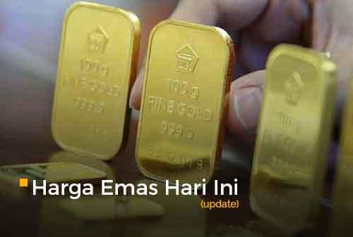 Harga Emas Hari Ini 22 September 2020 adalah Rp 1.009.000 per gram