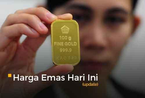 Harga Emas Hari Ini 17 Februari 2021 adalah Rp 922.000 per gram