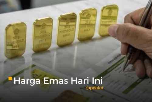 Harga Emas Hari Ini 28 September 2020 adalah Rp 1.006.000 per gram
