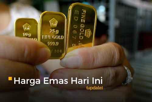 Harga Emas Hari Ini 22 Februari 2021 adalah Rp 930.000 per gram
