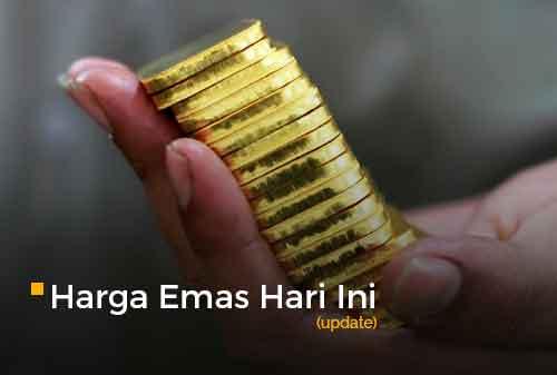 Harga Emas Hari Ini 23 Februari 2021 adalah Rp 938.000 per gram