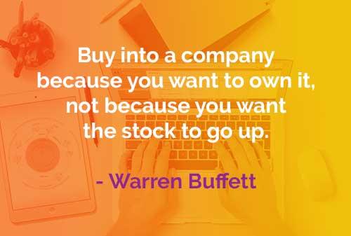 Kata-kata Bijak Warren Buffett: Membeli Perusahaan