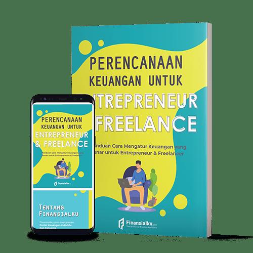 Mockup ebook entrepreneur dan freelancer
