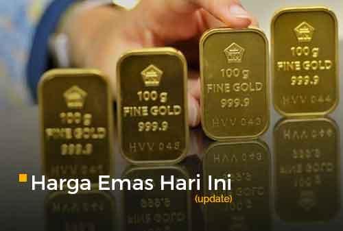 Harga Emas Hari Ini 25 Februari 2021 adalah Rp 934.000 per gram
