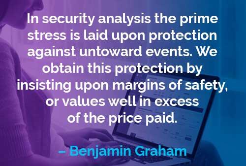 Kata-kata Motivasi Benjamin Graham: Analisis Sekuritas