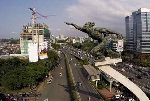 Tempat Wisata di Jakarta - #34 Patung Pancoran - Finansialku