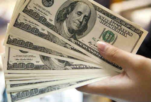 Dollar AS Tembus14.000 05 Dollar - Finansialku