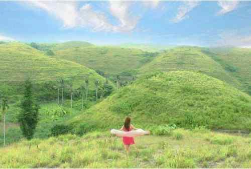 Liburan di Nusa Penida bisa main di bukit Teletubies!