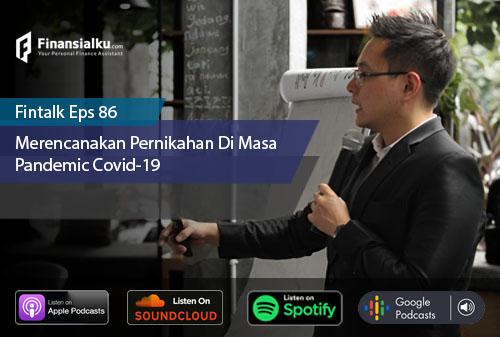 Finansialku Podcast Eps 86 – Merencanakan Pernikahan di Masa Pandemi Covid-19