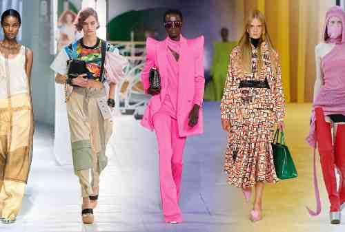Prediksi Tren Warna Fashion 2021: Warna-warni Stabilo