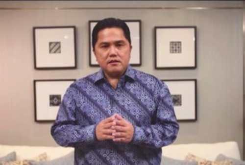 Erick Thohir Resmi Bentuk Indonesia Battery Corporation (IBC)