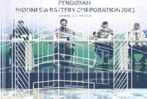 Erick Thohir Resmi Bentuk Indonesia Battery Corporation (IBC) 02