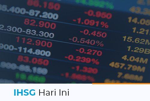 IHSG Hari Ini 13 April 2021