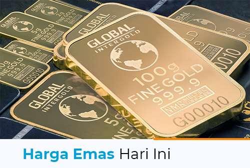 Harga Emas Hari Ini 19 Juli 2021