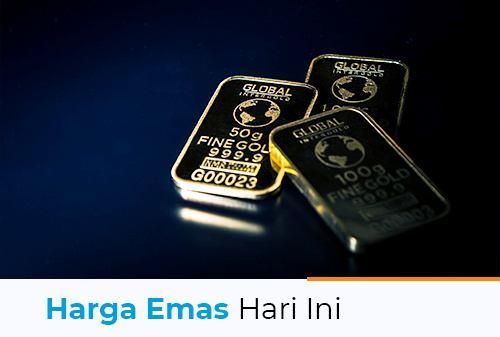 Harga Emas Hari Ini 23 Juli 2021