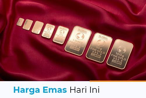 Harga Emas Hari Ini 5 Agustus 2021